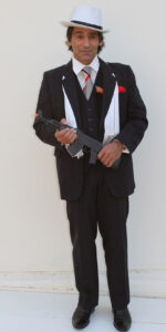 Al Capone fancy dress