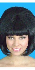 Beehive Black Wig