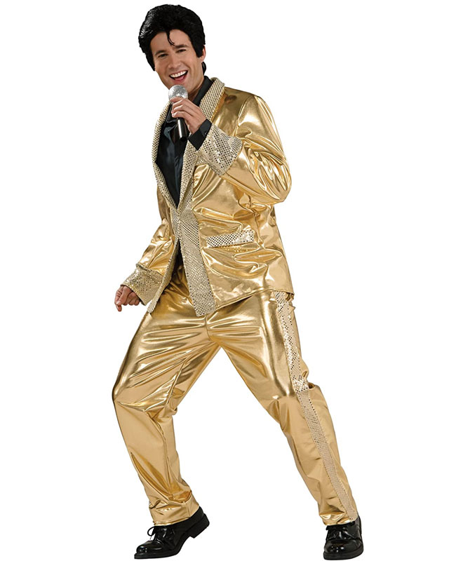 Elvis Gold Suit