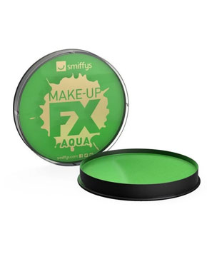 green face and body make up