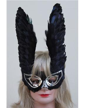 phoenix black feathered