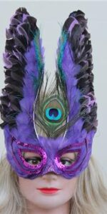 phoenix purple mask