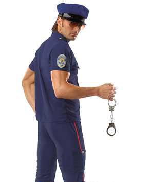 police fancy dress costume