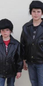 1950 Leather Look Jacket Boys
