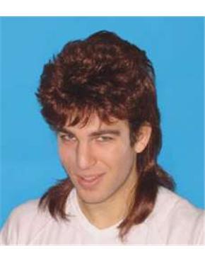 Mullet Brown Wig
