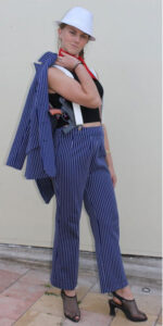 gangster girl suit