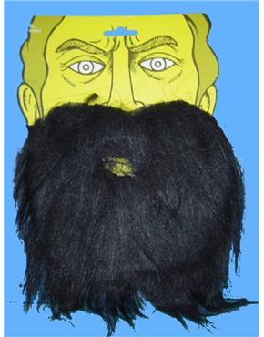 Beard & Moustache Black
