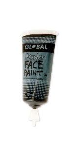 Black Face & Body Paint