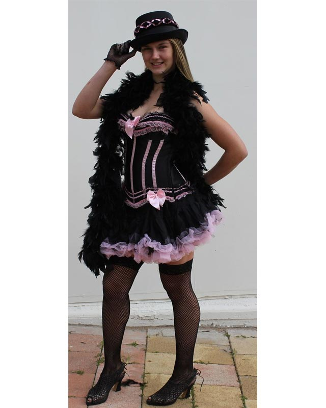 Burlesque Pink and Black