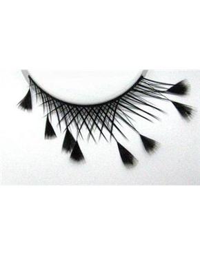 Eyelashes Feathered