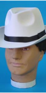 Fedora Hat White