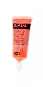 Fluro Orange Face & Body Paint