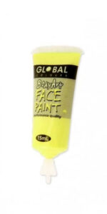 Fluro Yellow Face & Body Paint