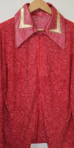 Shirt Orange Lurex