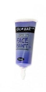 Purple Face & Body Paint