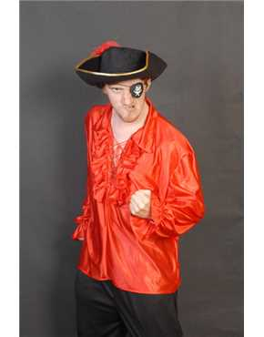 Pirate Shirt Red
