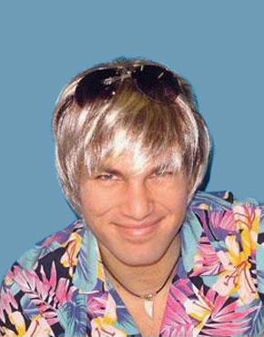 surfer dude wig