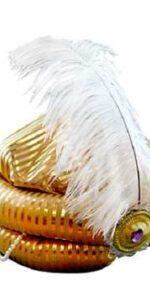 gold turban