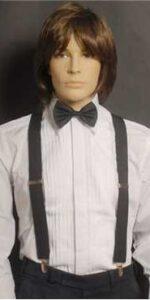 Suspenders Black