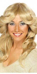 70s female flick wig