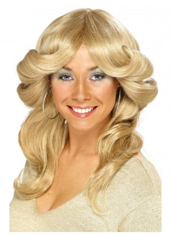 70s female flick wig