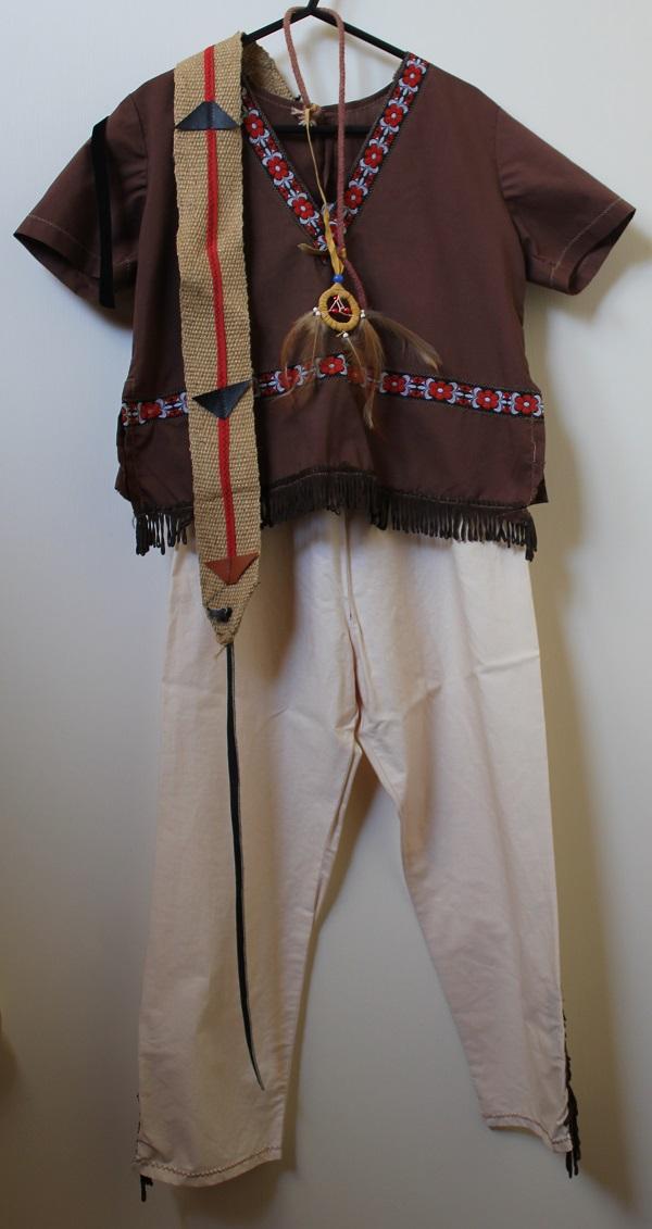american indian boy