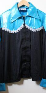 black lycra body shirt