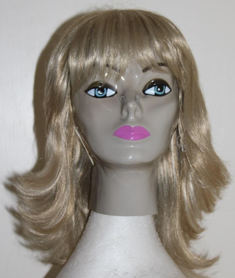long blonde flick wig