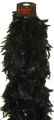 boa black plush
