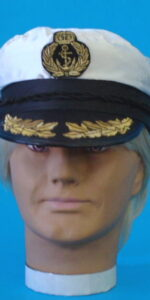 navy captain cap