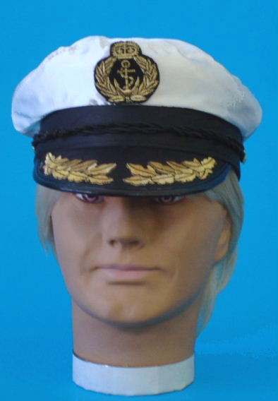 navy captain cap