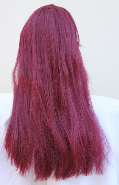 cherry red long back