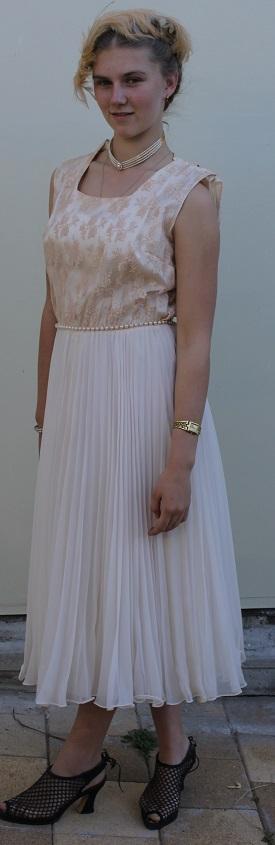 1950 cocktail dress