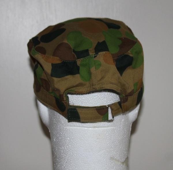 commander cap back
