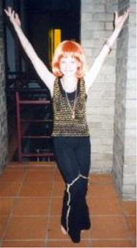 disco girl child