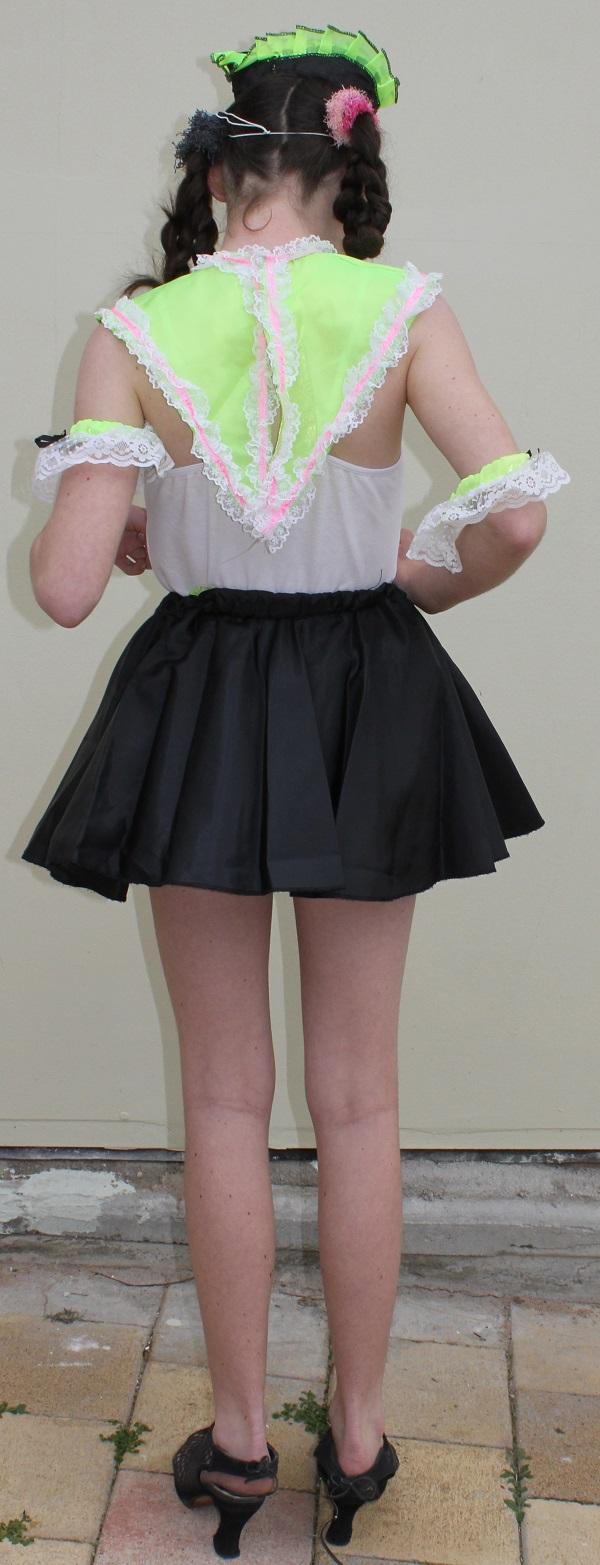french maid achild back
