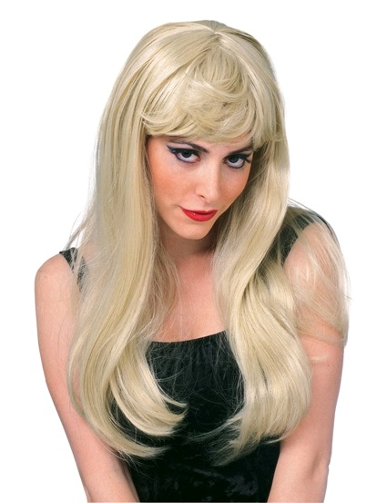 long blonde glamour wig