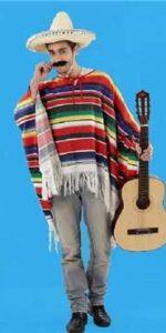 mexian ponch woven