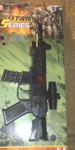 military gun