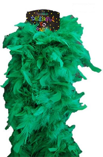 boa green plush
