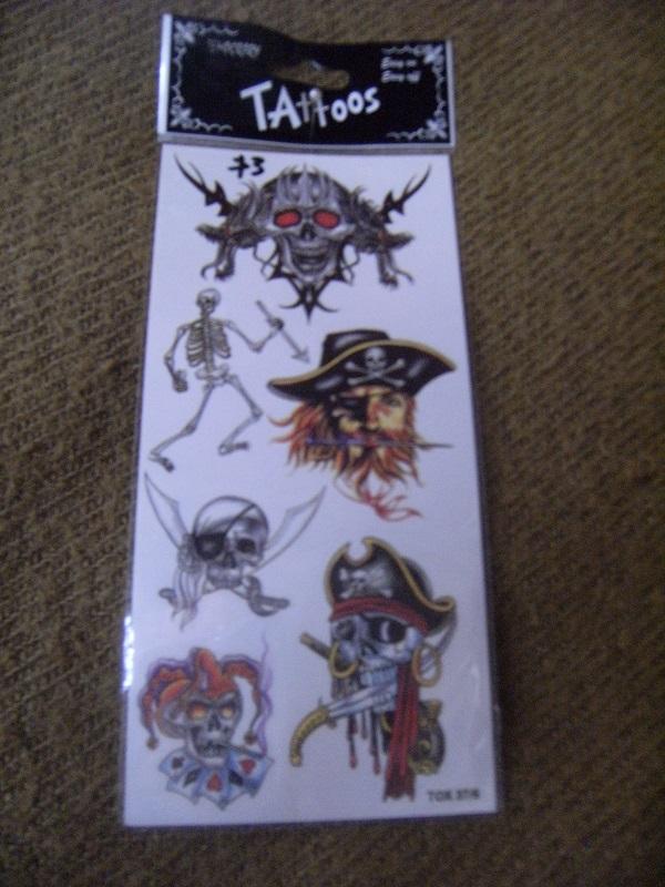 tattoo 3 6 on card