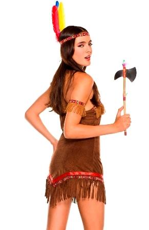 Tribal Princess back